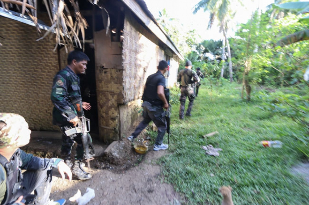 Govt troops corner ASG rebels in Bohol