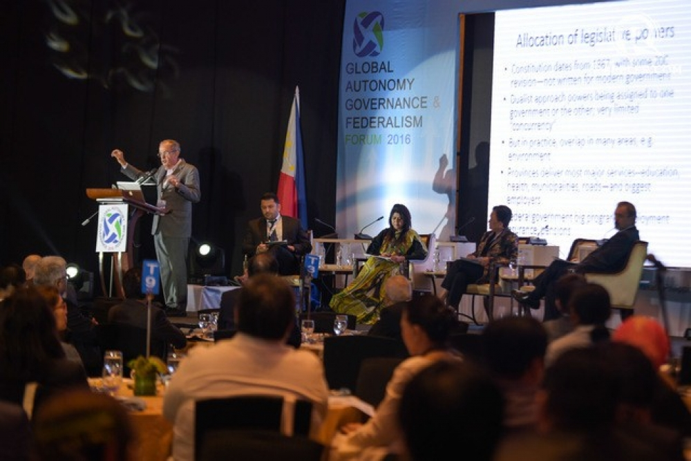 A COLLOQUY ON FEDERALISM, GOVERNANCE AND AUTONOMY