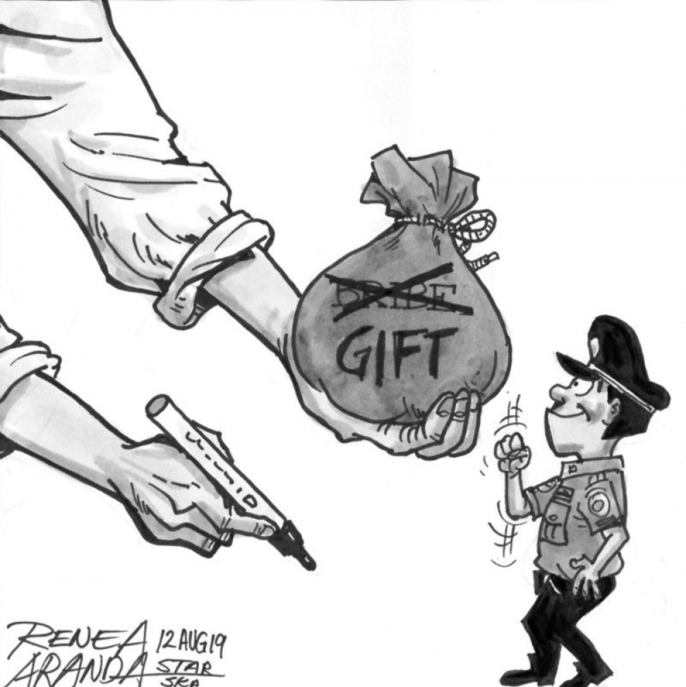 On gifts, bribery and rent-seeking