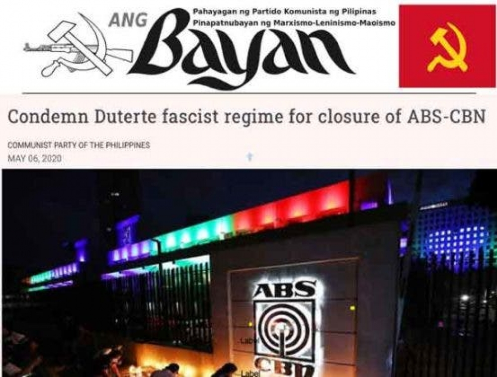 Communists furious over ABS-CBN closure