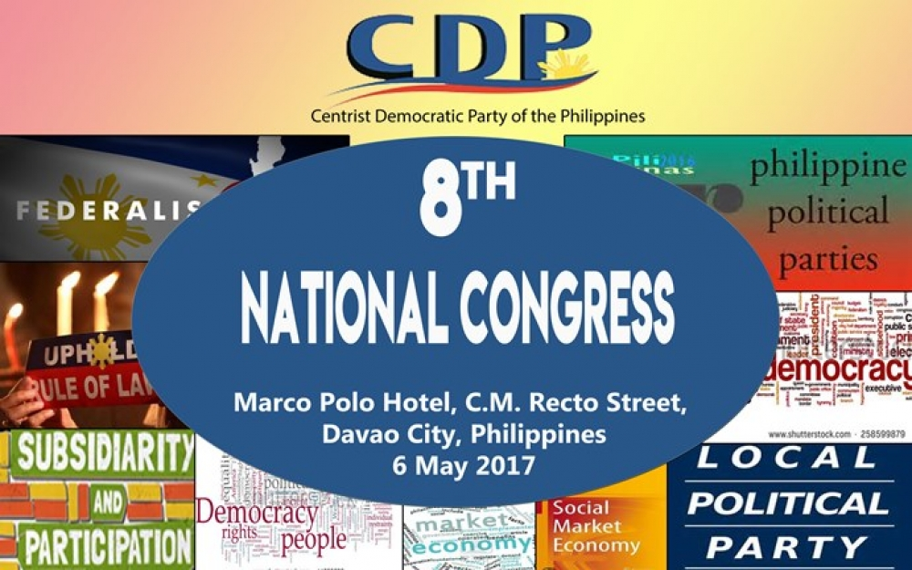 CDP holds 8th National Congress