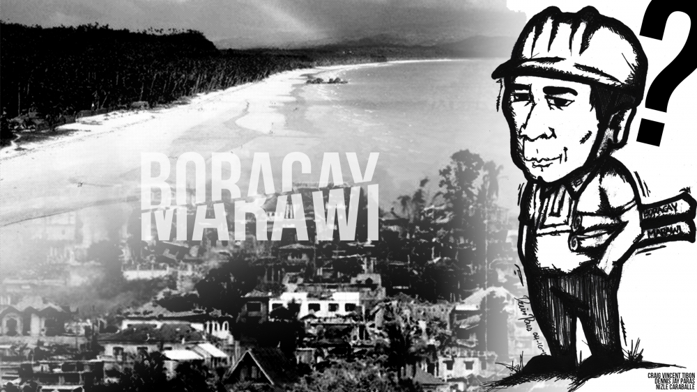 The pattern in Marawi and Boracay
